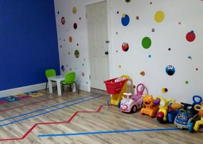 Neuromotor skills room